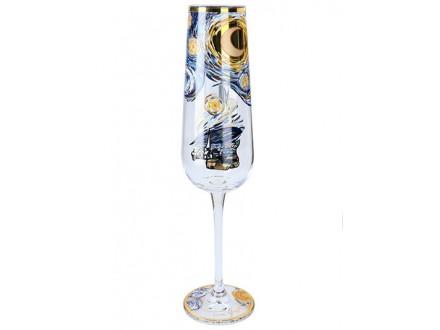 Čaša za šampanjac - The Starry Night