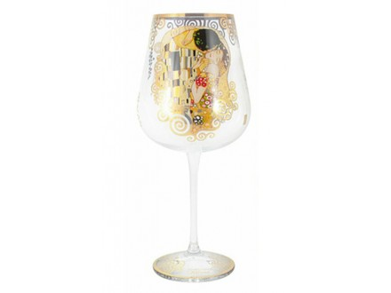 Čaša za vino - Klimt, The Kiss - Gustav Klimt