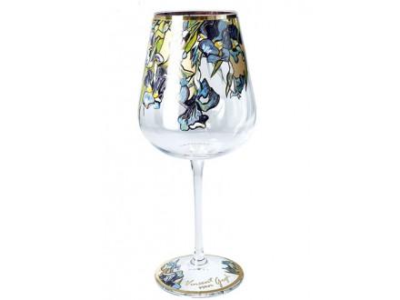 Čaša za vino - Van Gogh, Irises - Van Gogh