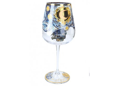 Čaša za vino - Van Gogh, The Starry Night