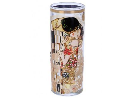 Čašica za votku i 4 mini podmetača - Klimt, Kiss
