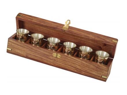 Čašice za rum set od 6