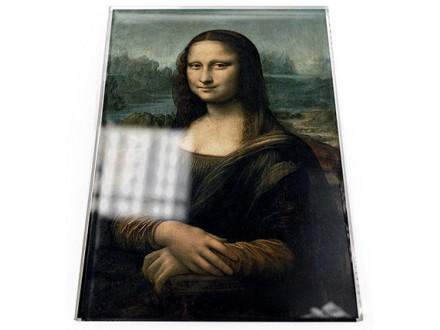 Čestitka - Da Vinci, Mona Lisa