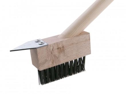 Četka čelična za čišćenje behatona za mahovinu i korov Levior