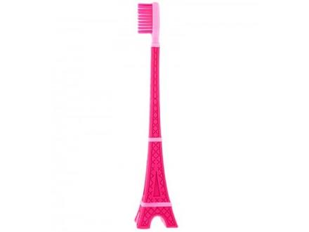 Četkica za zube - Parismile Tower, Pink - Tout en beaute