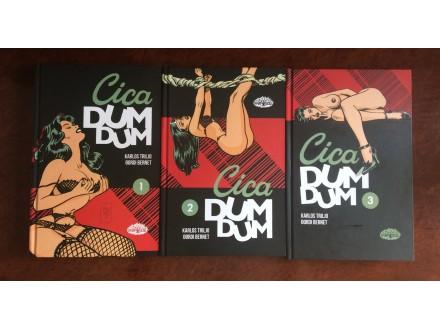 Cica Dum Dum 1,2,3 - Karlos Triljo/Djordji Bernet NOVO