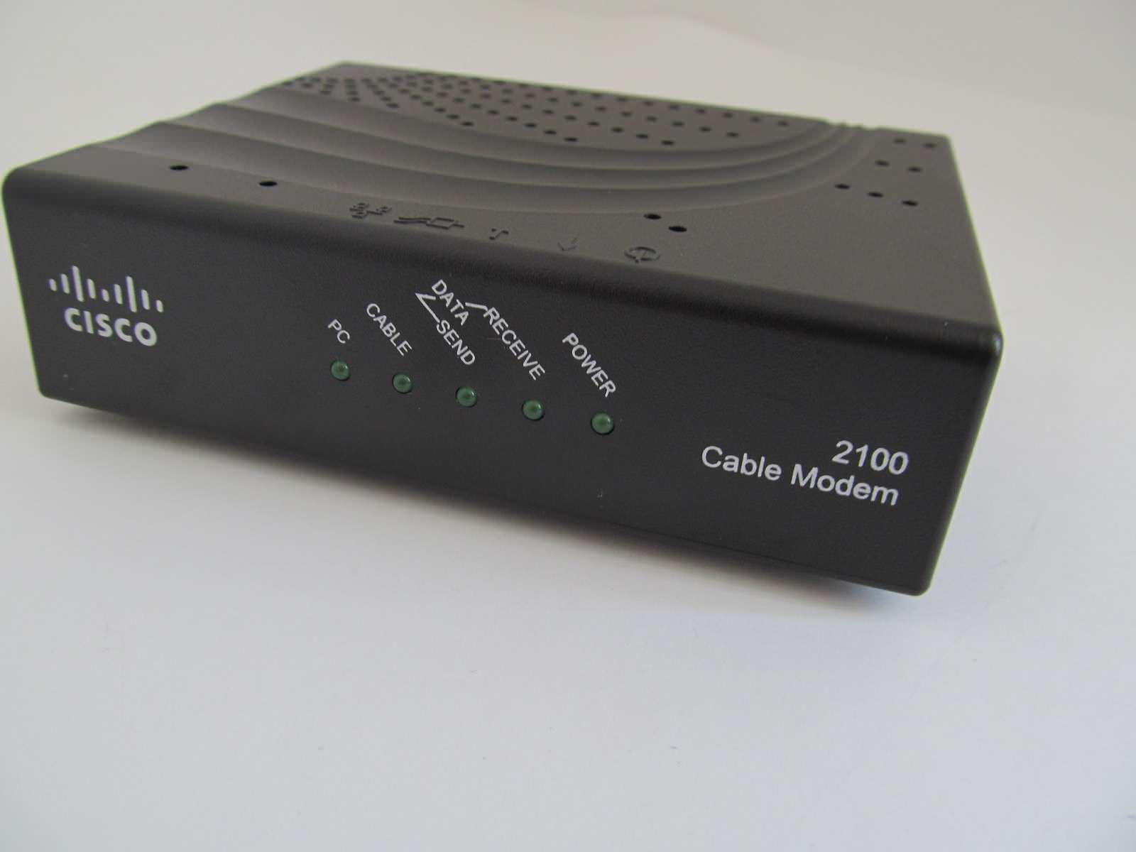 What is the use of usb output on my cisco dpq2160 modem