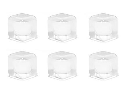 Clear Reusable Ice Cubes, set 1/30