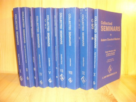 Collected seminars by Modern Cl.Master 1-10 homeopatija