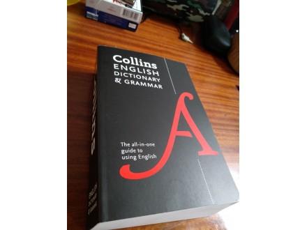 Collins English dictionary &; grammar NOVO