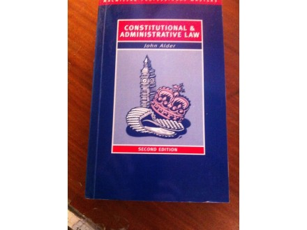 Constitutional administrative law John Alder