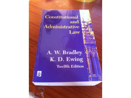 Constitutional and administrative law Bradley Ewing