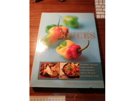 Cooks encyclopedia of spices Morris Mackley