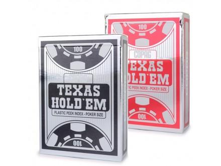 Copaq Texas Hold'em - crvene ili crne
