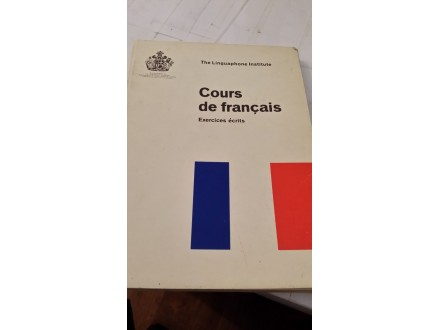 Cours de francais