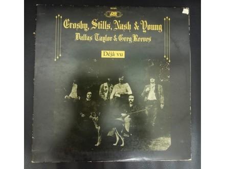 Crosby, Stills, Nash &; Young – Déjà Vu LP (Suzy,1979)