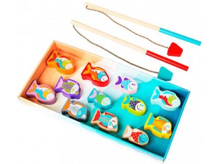 Cubika - Drvena igračka, Pecanje 14 elemenata