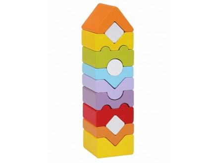 Cubika - Drvena kula, 12 elemenata