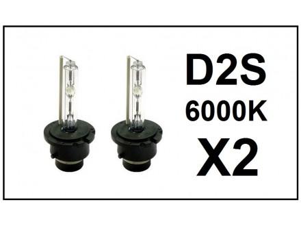 D2S XENON sijalica - 6000K - 35W - 2 kom