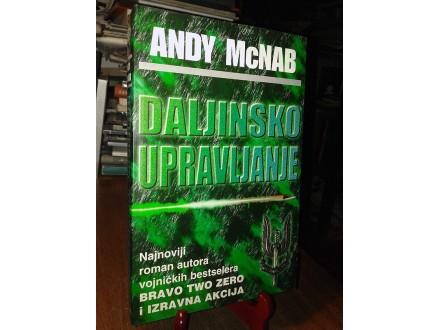 DALJINSKO UPRAVLJANJE - Andy McNab