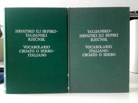 DEANOVIĆ, TALIJANSKO HRVATSKI ILI SRPSKI RJEČNIK 1-2