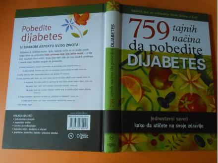 DIJABETES 759.Tajnih načina da pobedite dijabetes