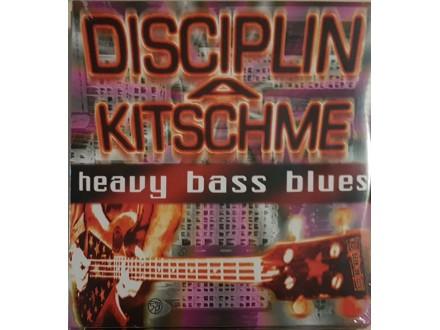 DISCIPLIN A KITSCHME -HEAVY BASS BLUES - LP