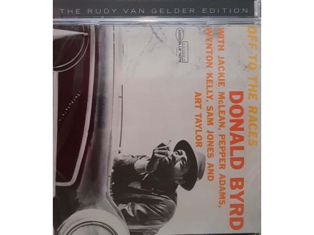 DONALD BYRD - RVG - OFF TO THE - CD