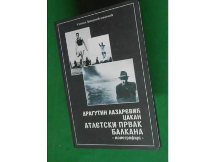 DRAGUTIN LAZAREVIĆ CAKAN atletski prvak Balkana 1940.