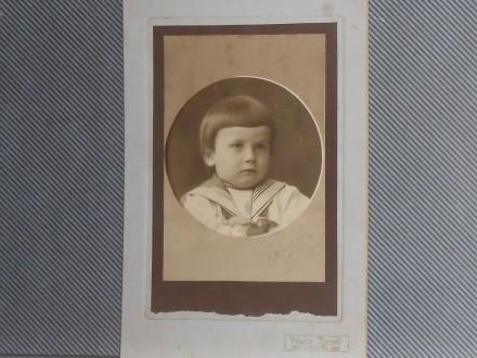 DUNĐERSKI  DUŠAN -KARTONKA-SRBOBRAN 1907.g