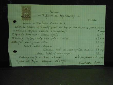 DUNĐERSKI DUŠAN-ZIDAR-RAČUNI 1942.UJVIDEK