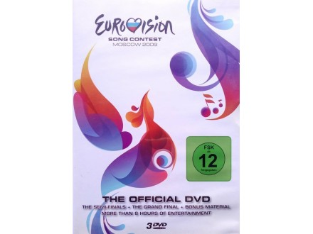 DVD - Eurovision Song Contest Moscow 2009