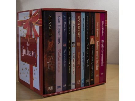 Dar ljubavi - Komplet 11 knjiga