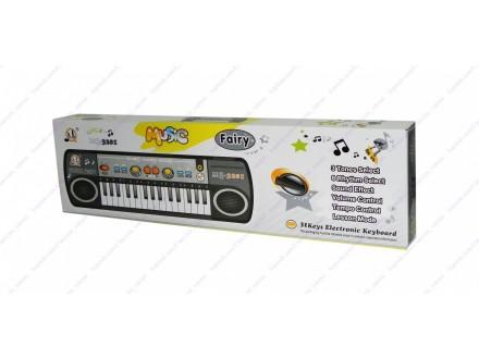 Decji sintisajzer + mikrofon 1 + BESPL DOST. ZA 3 ART.