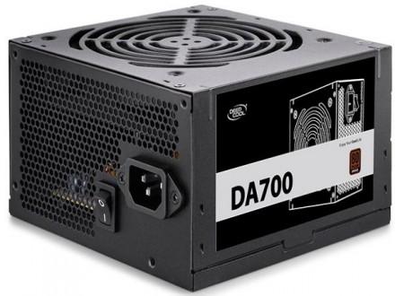 DeepCool DA-700 *Napajanje 80PLUS BRONZE 700W 1x24pin,4+4pin EPS,3x IDE,5x S-ATA,4xPCI-E 6+2pin 120m