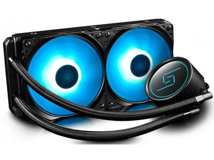 DeepCool GAMMAXX L240* RGB vodeno hladjenje, Fans 500~1800rpm, LGA20xx/LGA1366/LGA115x/ AMD AM4/FM2+