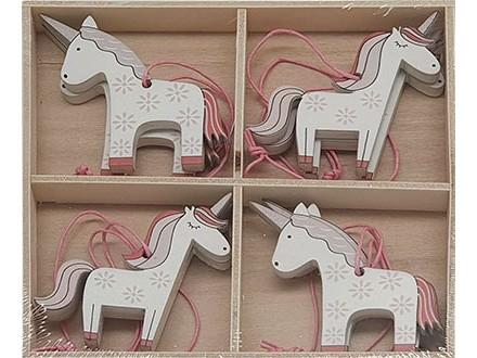 Dekoracija - Hanging Unicorn, set