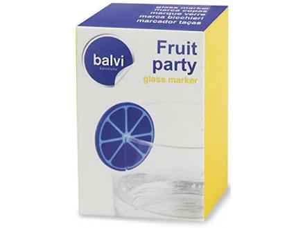 Dekoracija za čašu - Fruit Party