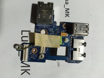 Dell E6410 USB i Audio plocica - Konektor