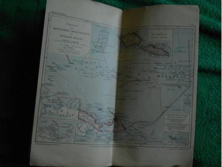 Deutscher REICH WW1 Kolonial-Atlas.1905.g