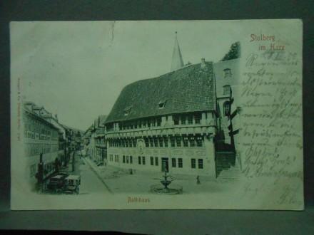 Deutschland, Stolberg, Rathaus in Stolberg im Harz