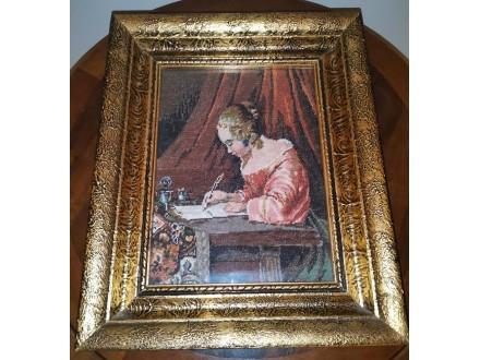 Devojka koja piše - Vilerov goblen