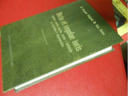 Dicta et regulae iuris, latinska pravna pravila