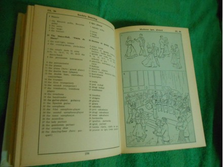 Dictionary in pictures English Serbian
