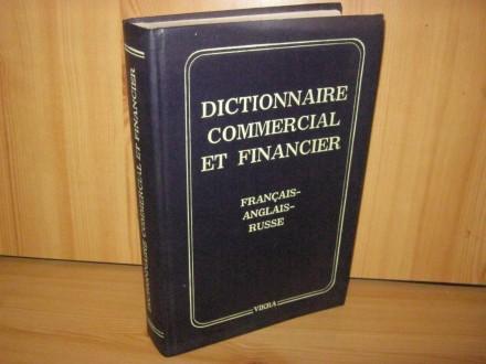 Dictionnaire commercial et financier, franc, engl, rus