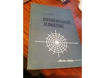 Diferencijalne jednačine Belajčić