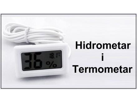 Digitalni hidrometar i termometar sa sondom