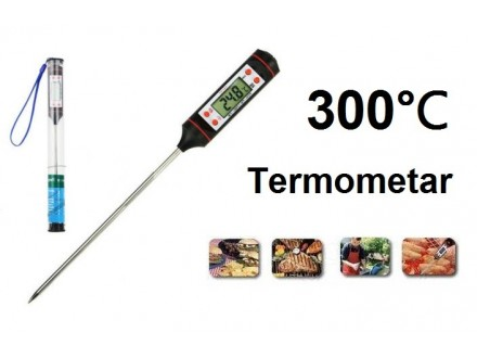 Digitalni termometar -50°C do +300°C