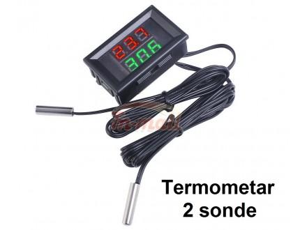 Digitalni termometar sa dve sonde -20-100°C - C+Z