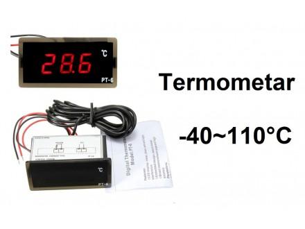Digitalni termometar sa sondom -40-110°C - 220V